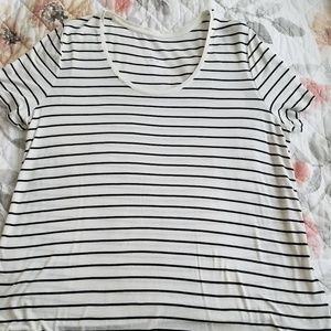 A New Day Striped Tee